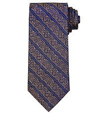 Signature Floral Vine Stripe Tie