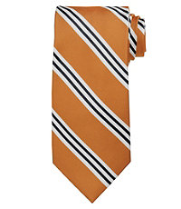 Executive Purple Stripe Extra Long Tie