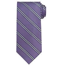 Executive Purple Stripe Long Tie