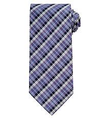 Executive Plaid Extra Long Tie