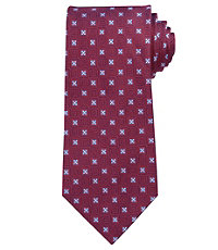 Executive Boxed Squares Long Tie