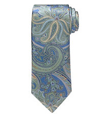 Signature Paisley Long Tie