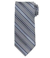 Signature Satin Stripe on Tex Long Tie