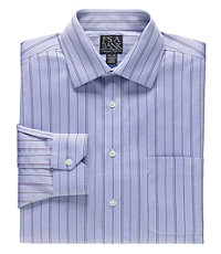 Signature Spread Collar Patterned Dress Shirt Big or Tall.