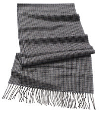 Cashmere JAB Check Scarf
