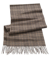 Cashmere Glenn Plaid Scarf $130.00 AT vintagedancer.com