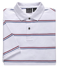 Traveler Short Sleeve Patterned Polo