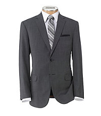 Joseph Slim Fit 2 Button Plain Front Wool Suit