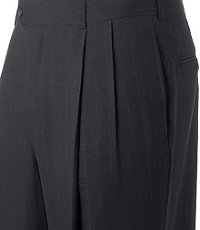 Business Express Pleated Front Trousers Extended Sizes