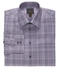 Joseph Abstract Plaid Cotton Dress Shirt