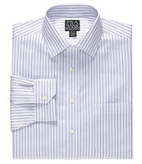 Signature Wrinkle-Free Spread Collar Barrel Cuff Dress Shirt