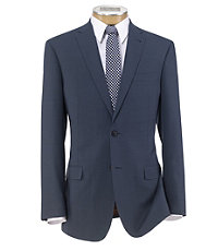 Joseph Slim Fit 2 Button Plain Front Wool Suit