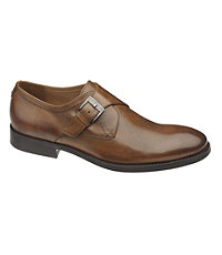 Tyndall Monk Strap Shoe by Johnston and Murphy