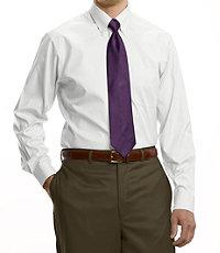 Traveler Tailored Fit Button Down Collar Dress Shirt Big or Tall.