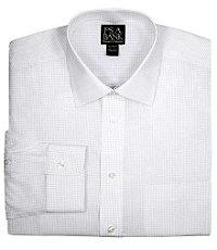 Traveler Tailored Fit Spread Collar Dress Shirt Big or Tall.