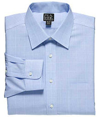 Traveler Tailored Fit Spread Collar Dress Shirt Big or Tall