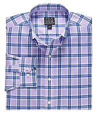 Signature Long-Sleeve Wrinkle-Free Cotton Buttondown Sportshirt