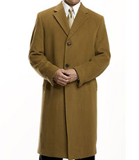 Merino Wool Topcoat Full Length