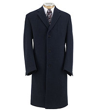 Heathered Merino Wool Topcoat