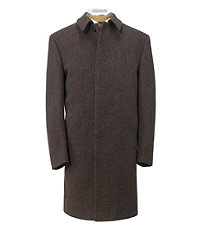 Herringbone 3/4 Length Topcoat