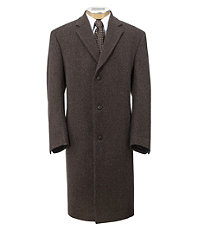 Herringbone Full Length Topcoat