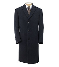 Herringbone Full Length Topcoat Extended Sizes