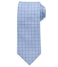 Executive Grid with Boxes Tie