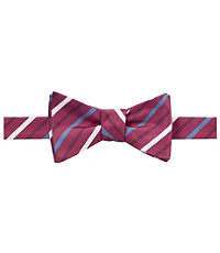 Executive Collection Stripe Bow Tie