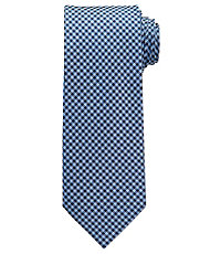 Joseph Tonal Small Check Tie