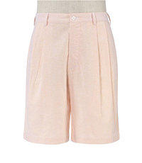 Stays Cool Cotton Pleated Oxford Shorts