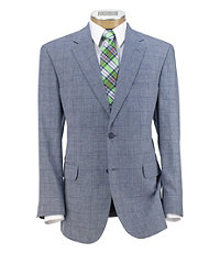 Tropical Blend 2-Button Tailored Fit Sportcoat Extended Sizes