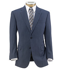 Joseph 2 Button Tailored Fit Suit With Plain Front Trousers.