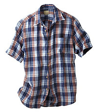 VIP Short Sleeve Linen Sportshirt
