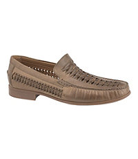 Cresswell Huarache Weave Venetian Shoe by Johnston and Murphy