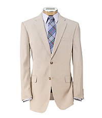 Tropical Blend 2-Button Slim Fit Suit with Plain Front Trousers Extended Sizes.