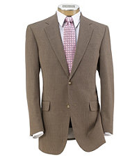 Tropical Blend 2 Button Ticweave Suit