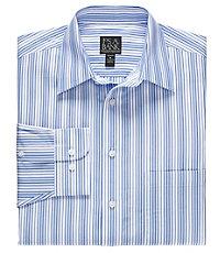 Traveler Long Sleeve Point Collar Sportshirt