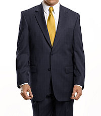 Signature 2-Button Wool Suit Extended Sizes.