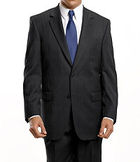Signature 2-Button Tailored Fit Jacket Extended Sizes