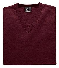 Signature Merino Wool V-Neck Sweater