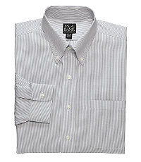 Traveler Pinpoint Fine-Line Buttondown Dress Shirt