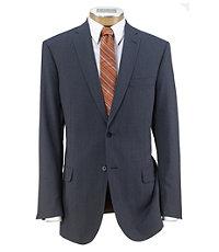 Joseph Slim Fit 2 Button Plain Front Wool Suit Extended Sizes