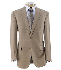 Signature Gold 2-button Wool/Silk Sportcoat Extended Sizes