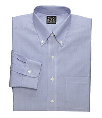 Traveler Tailored Fit Button Down Collar Dress Shirt Big or Tall