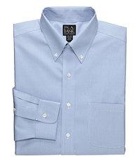 Traveler Tailored Fit Buttondown Collar Dress Shirt Big and Tall