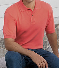 Traveler Short-Sleeve Solid Polo Big/Tall Sizes