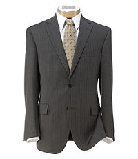 Traveler Tailored Fit 2-Button Suit Pleated Front