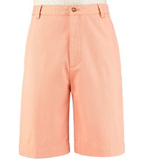 VIP Take it Easy Cotton Washed Twill Plain Front Shorts