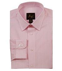 Joseph Spread Collar Slim Fit Stripe Dress Shirt