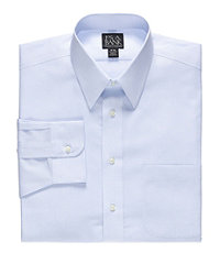 Traveler Point Collar Wrinkle-Free Dress Shirt Bigand Tall.